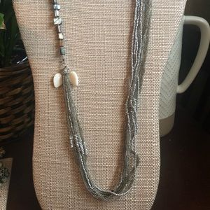 Jewelry - Long, Multi Beaded Necklace